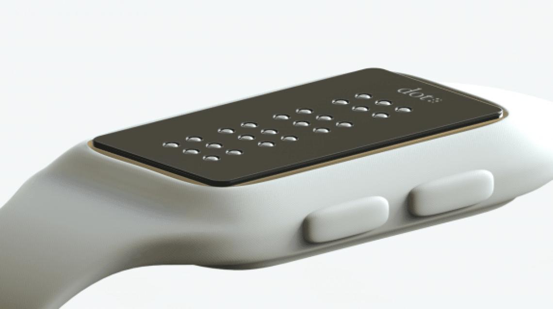 smartwatch braille dot