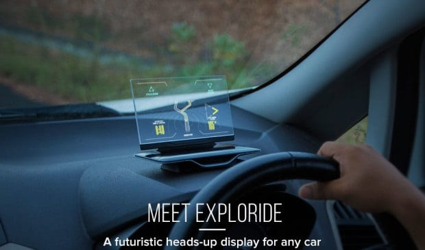 Exploride connecter voiture
