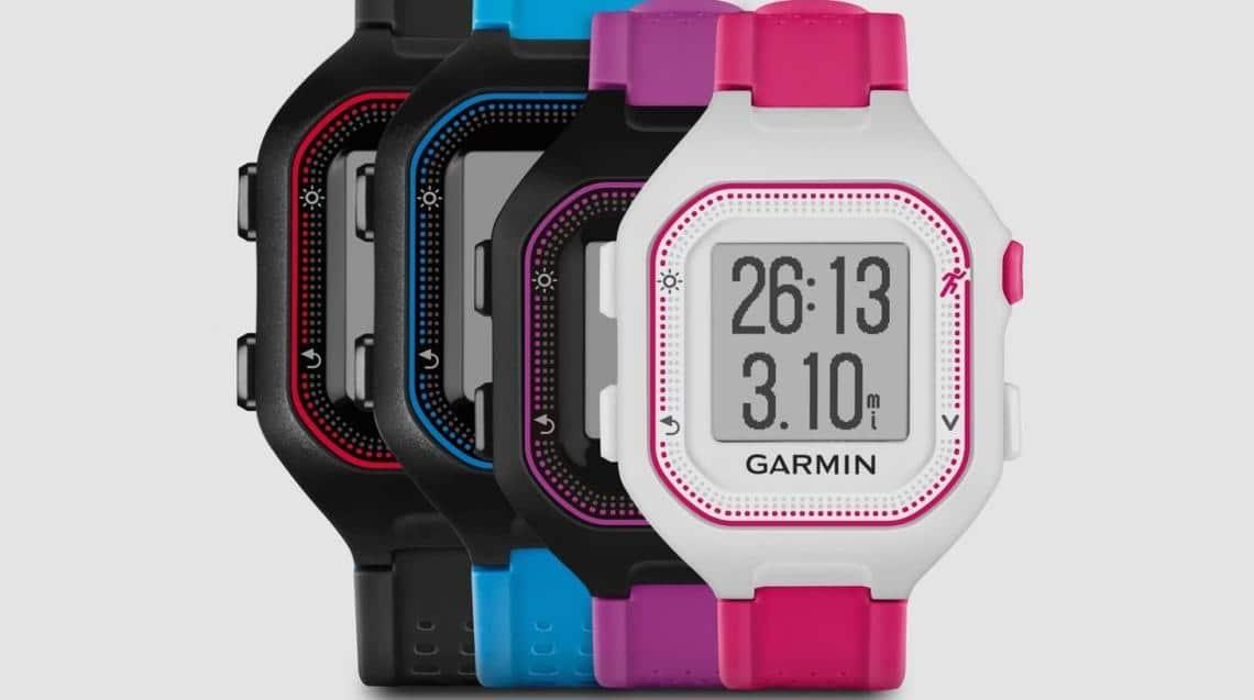 Forerunner 25 Garmin smartwatch entree de gamme