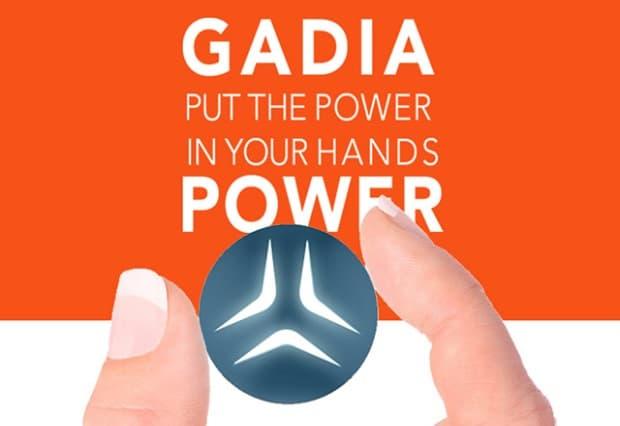 Gadia Power wearable geste