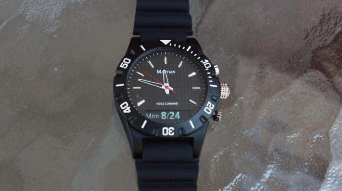 Martian Voice Command smartwatch