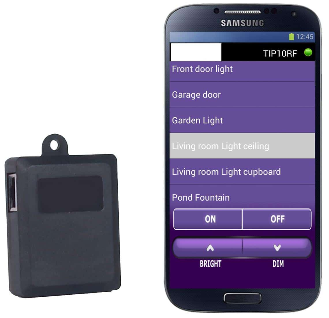 application mobile x10