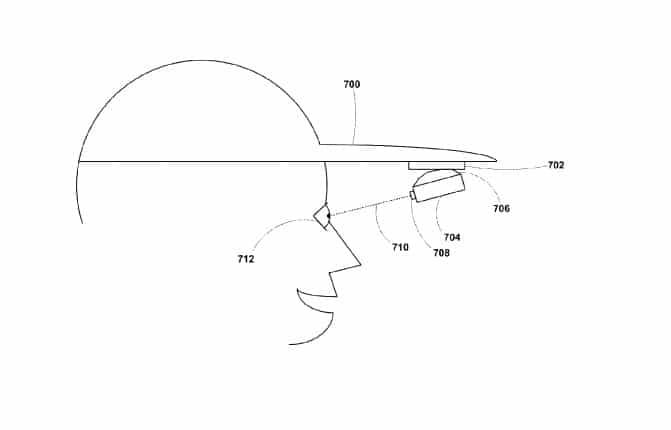 casquette connectée google brevet