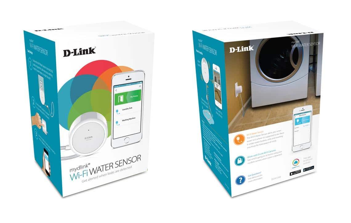 détecteur d'inondation connecté dlink Water Sensor DCH-S160