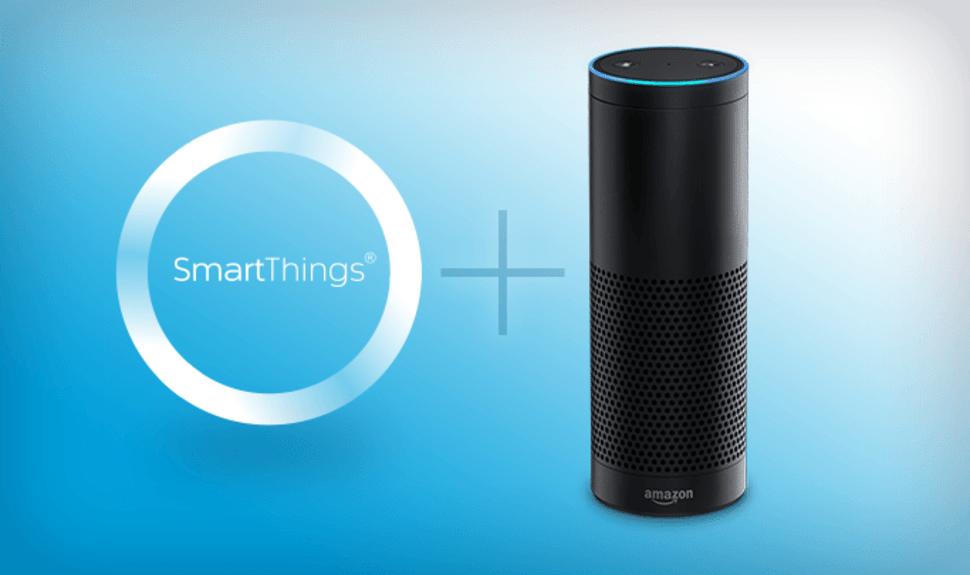 objets SmartThings Echo Amazon