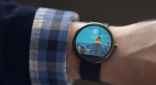 smartwatch Fossil Android Intel