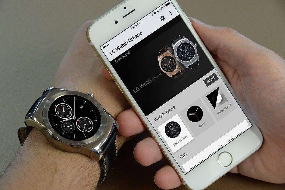 Android Wear pour iPhone