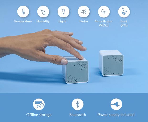 Koto air capteurs intelligents domotique smarthome
