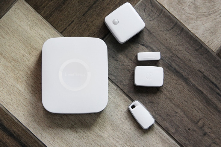 SmartThings nouveau hub