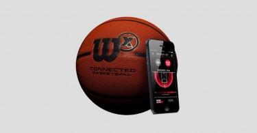 Wilson X ballon de basket connecté intelligent