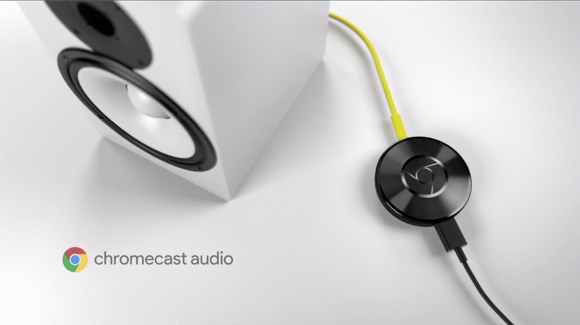 chromecast audio google