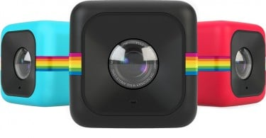 Polaroid Cube + action camera