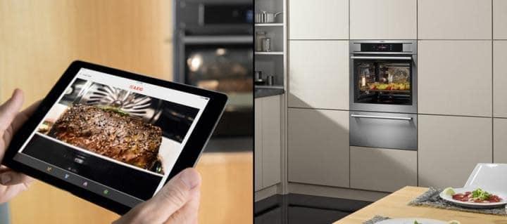four connecté AEG Pro Combi Plus Smart