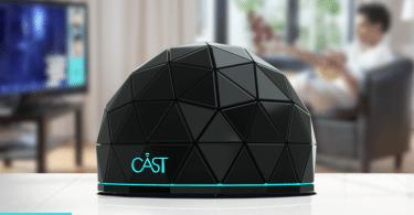 Cast hub connecté divertissements