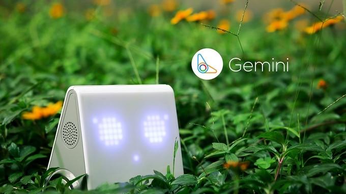 Gemini robot connecté