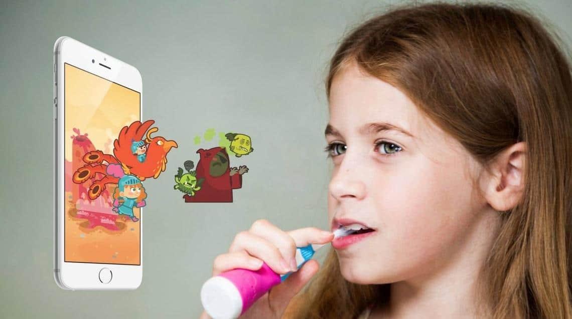 Playbrush brosse à dent connectée enfants