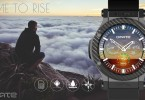 Omate Rise smartwatch circulaire Android 3G