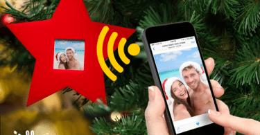 décoration de Noël connectée Jolly