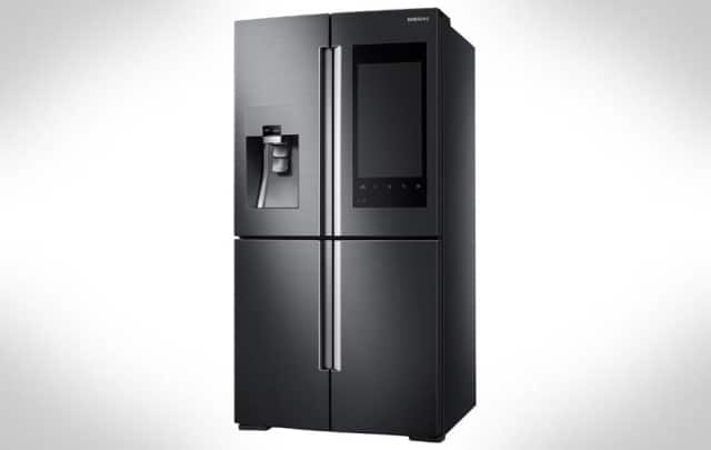 Family Hub réfrigérateur connecté intelligent Samsung