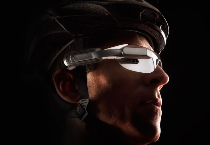 Varia Vision casque réalité augmenté Garmin