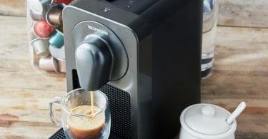 Prodigio machine à café connectée Nespresso