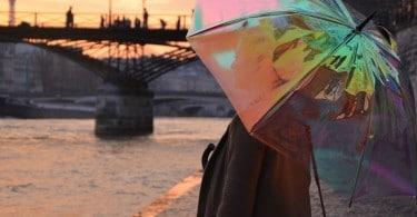 oombrella parapluie connecté intelligent