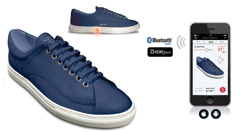 Digitsole chaussures intelligentes