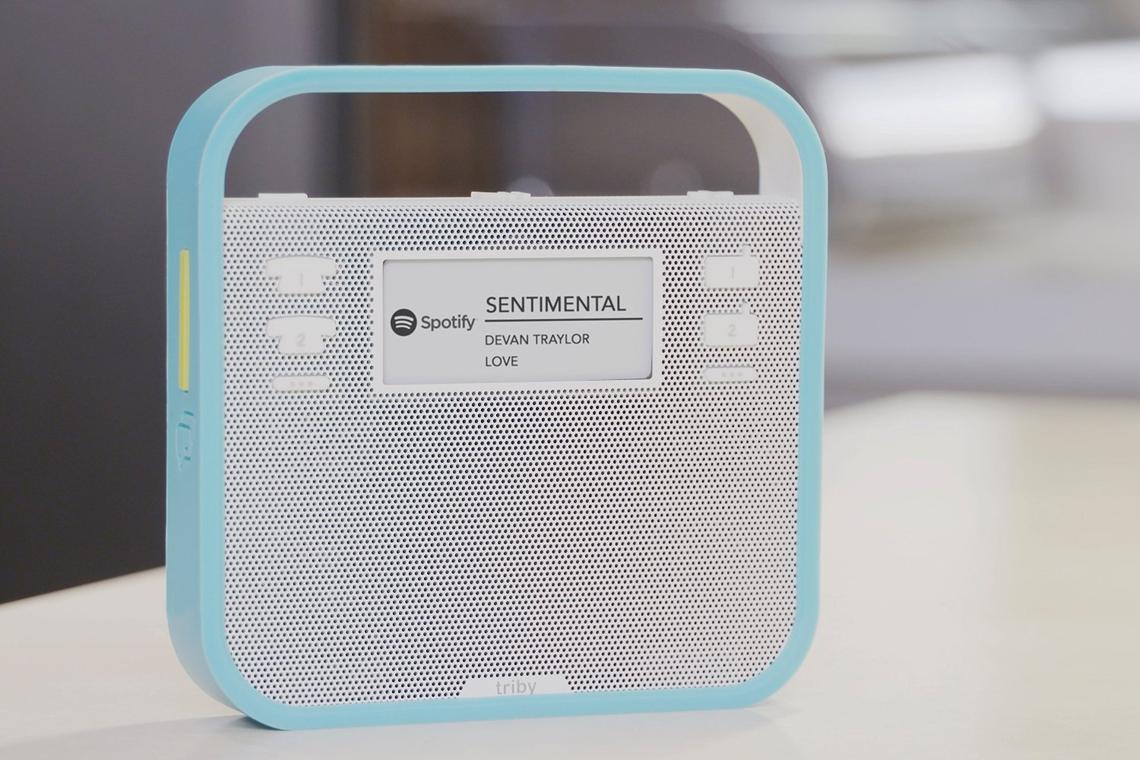 Triby haut-parleur connecté Alexa
