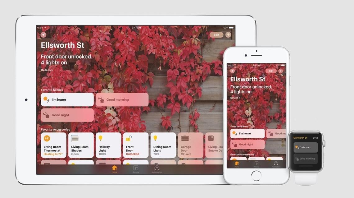 Apple Home HomeKit application