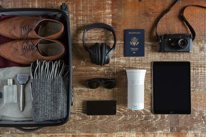 Wynd purificateur d'air intelligent portable
