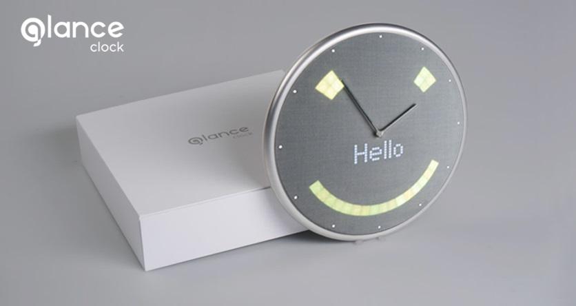 Glance Clock horloge connectée