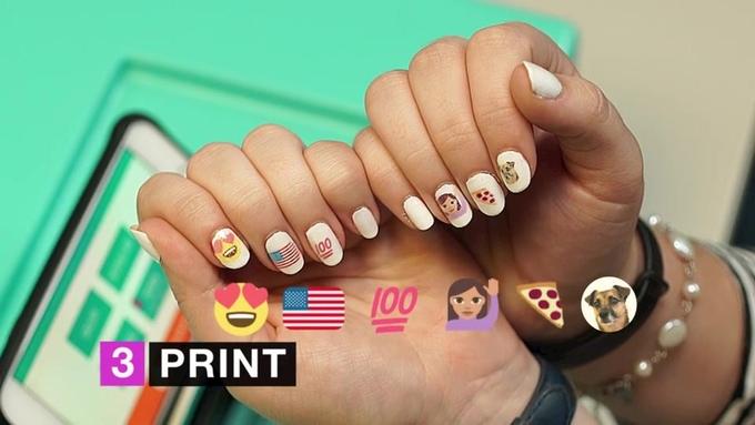 Nailbot imprimante connectée ongles