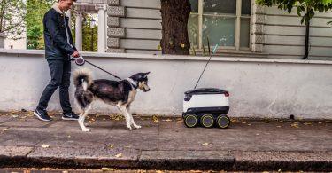 robots autonomes JustEat