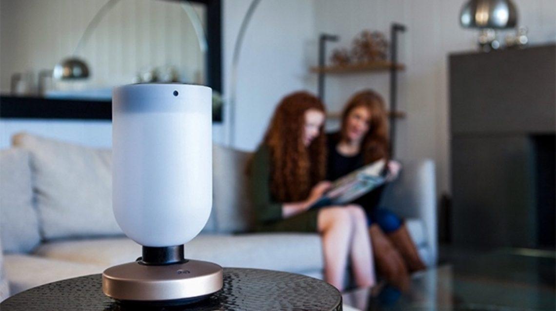 Momo lampe connectée domotique