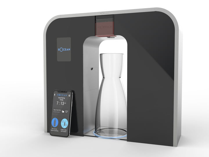 machine à eau connectée rOcean One