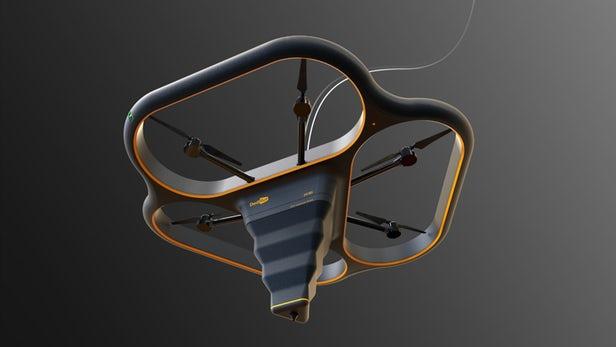 DediBot dévoile son concept d'imprimante 3D volante