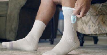 La chaussette Siren surveille la chaleur des pieds des diabétiques