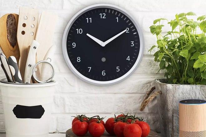 Découvrez les objets connectés Amazon dévoilés durant l'événement Horloge murale Amazon Echo