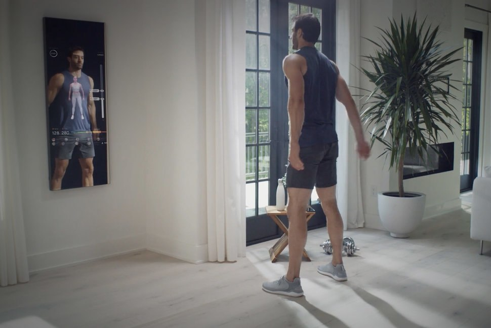 Mirror – Un miroir qui vous sert de coach sportif