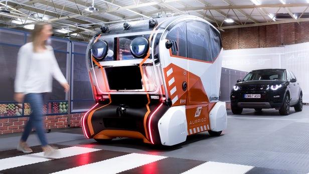 voitures autonomes Jaguar Land Rover