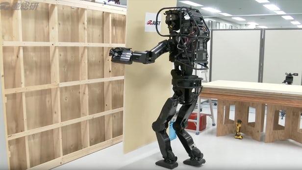 HRP-5P – Les japonais dévoilent un tout nouveau robot de construction