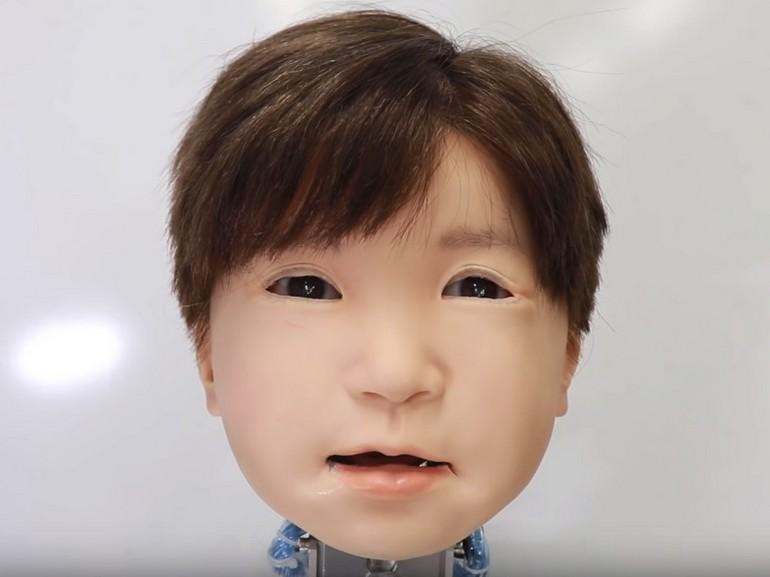 Affetto – La tête robotique sortie tout droit de vos cauchemars