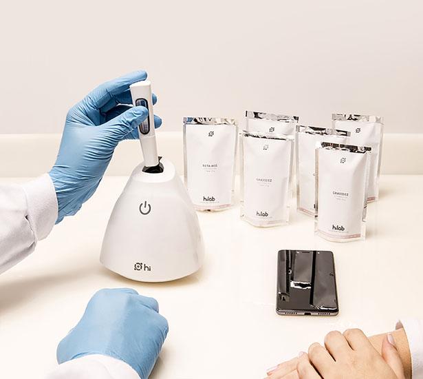 Hilab – Un concept de laboratoire portable qui révolutionne le diagnostic médical
