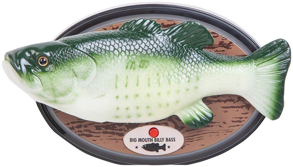 Le poisson Big Mouth Billy Bass désormais compatible avec Alexa