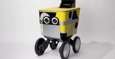 Serve - Le robot autonome Postmates qui vous livre vos sushis
