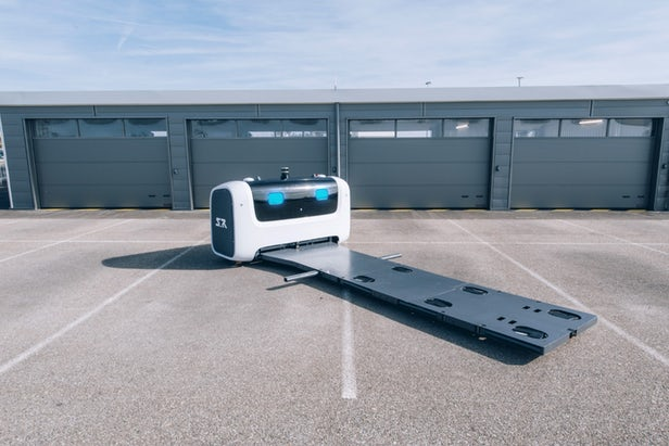 Stan – Un service de voiturier robot autonome arrive à l'aéroport de Gatwick 1