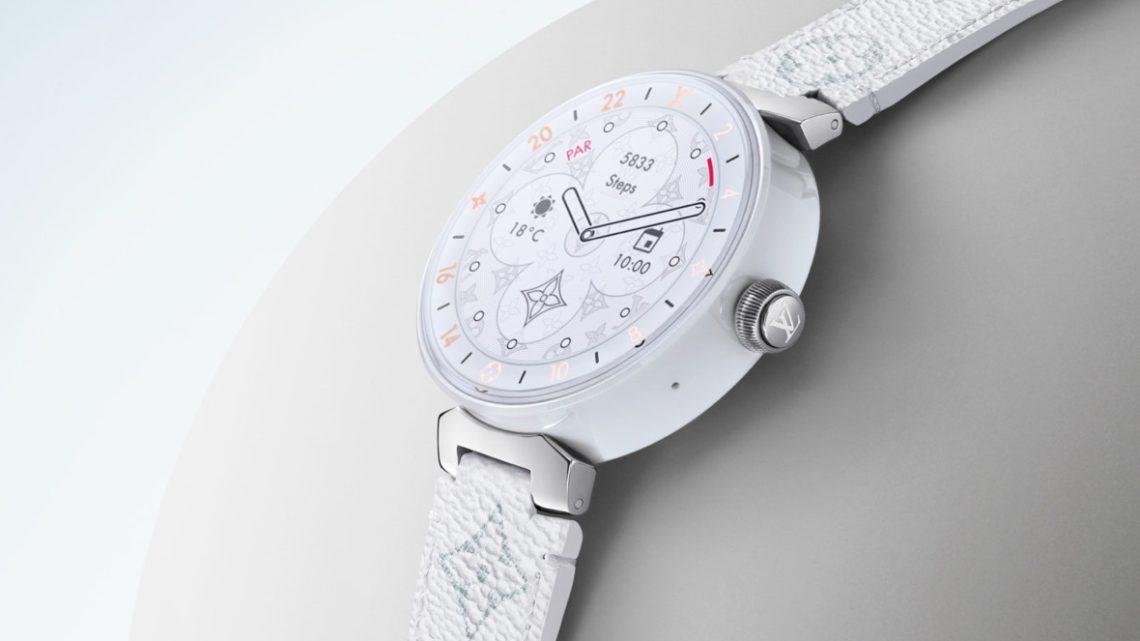 smartwatch Tambour Horizon – La smartwatch de Louis Vuitton bénéficie d'un regain d'énergie