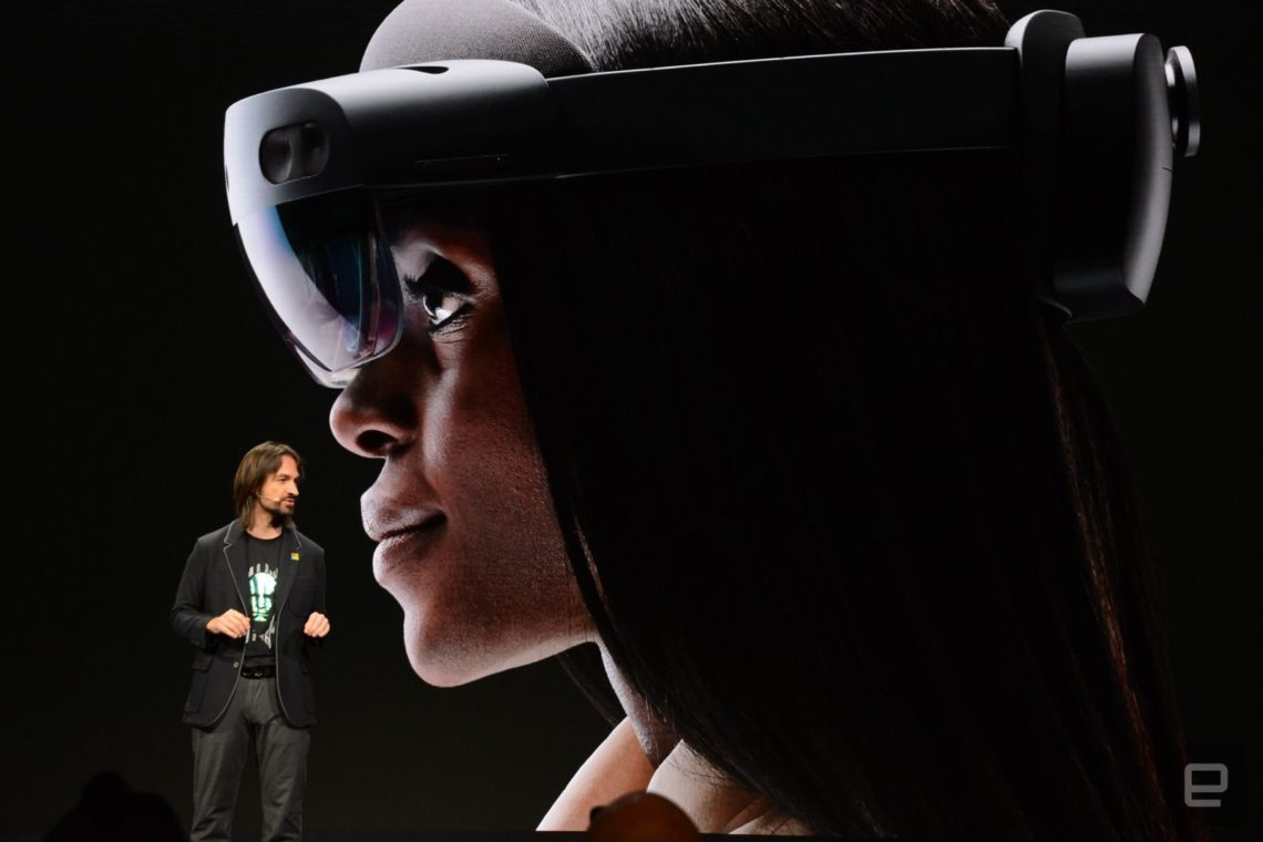 HoloLens 2 – Le casque de réalité mixte de Microsoft évolue 1