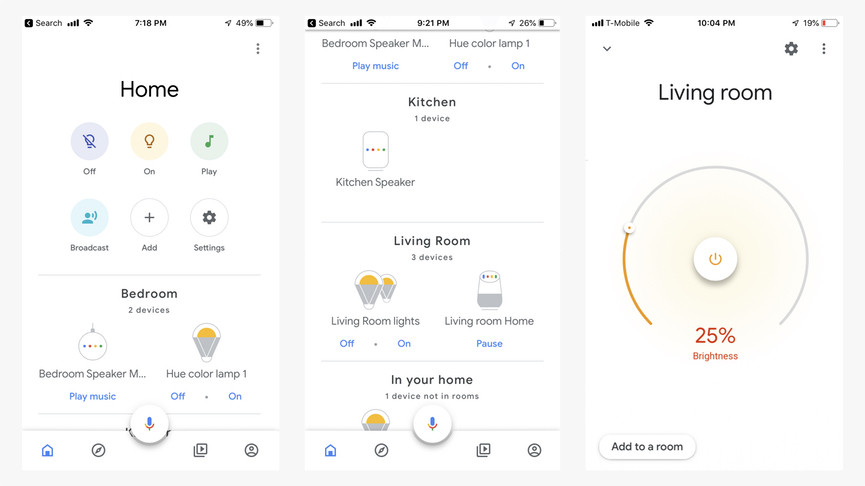 L'application Google Home peut désormais changer la couleur de toutes vos lumières intelligentes