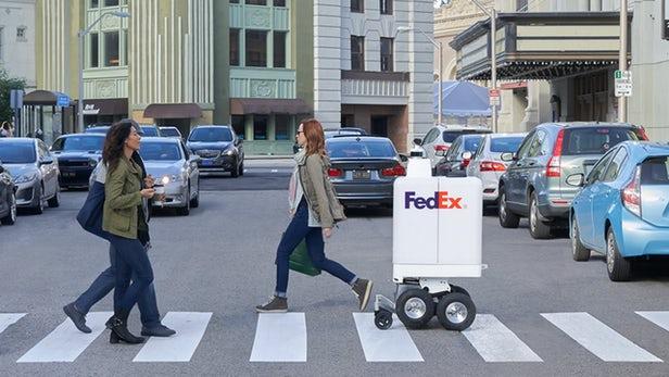 SameDay - FedEx lance un robot de livraison autonome